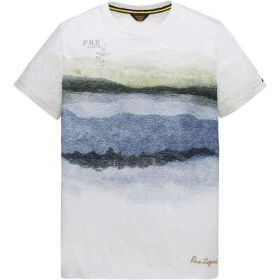 PME Legend - Shirt mit Aquarellprint