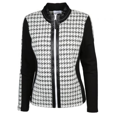 Just White - Elegante Sweatjacke