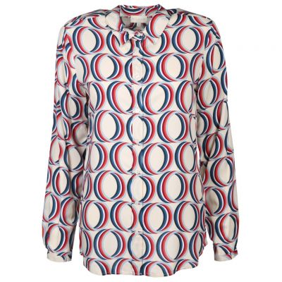 Milano Italy - Bluse mit modernem Print