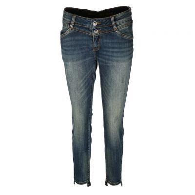Blue Monkey - Jeans im Cropped Style - Sandy