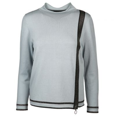 Faber - Pullover mit Lurexpaspeln