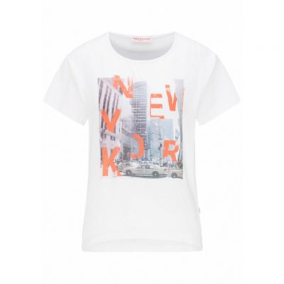 Frieda & Freddies - Shirt mit New York Fotoprint
