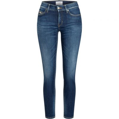 Cambio - Jeans mit Schmuckdetail - Paris ancle cut