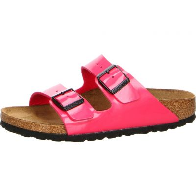 Birkenstock - Pantolette in Lack Optik - Arizona BF Patent