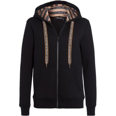 Marc Aurel - Sweatjacke mit Statement Prints