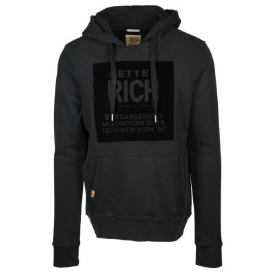 Better Rich - Hoodie mit Flockprint