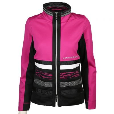 Canyon Women Sports - Kreativ gestaltete Sweatjacke