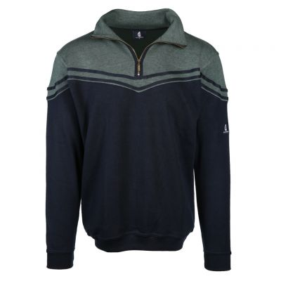 wind sportswear - Sweat Troyer aus Baumwollmix