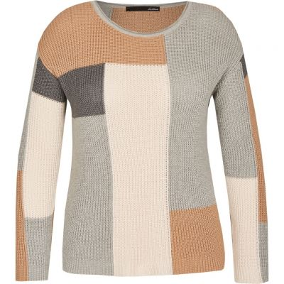 LeComte - Pullover mit Blockmuster