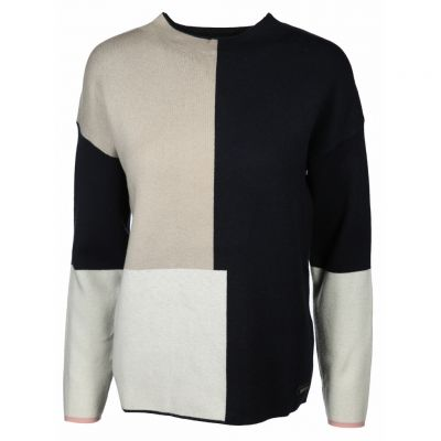 soquesto - Pullover mit Color Blocks