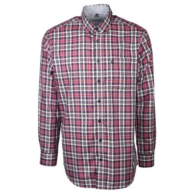 wind sportswear - Kariertes Button-Down Hemd