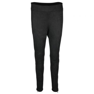 MAC - Leggings in Velours Optik
