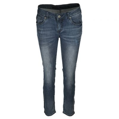 Blue Monkey - Jeans mit Zierpaspeln - Honey