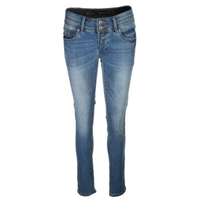 Blue Monkey - Jeans im Used Look - Mary