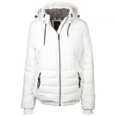 soquesto - Jacke in Offwhite