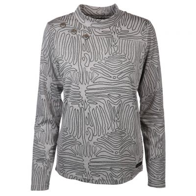 soquesto - Sweatshirt mit Allover-Muster