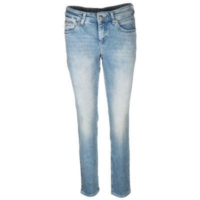 MAC - Jeans im Used-Look - SLIM