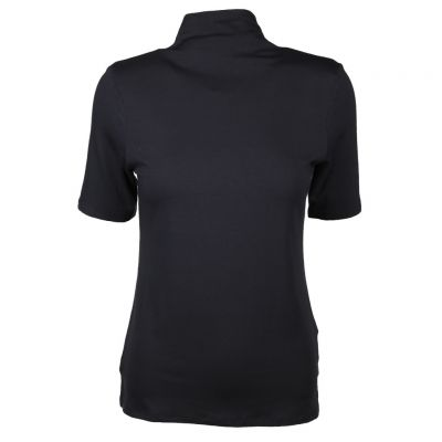 Rich & Royal - Shirt mit Stehkragen - Funnel Neck - T-Shirt