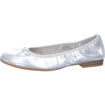 Tamaris - Ballerina im Metallic Look