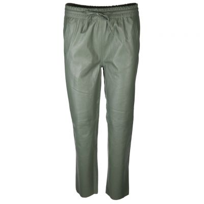 Rich & Royal - Jogging Pants aus Kunstleder