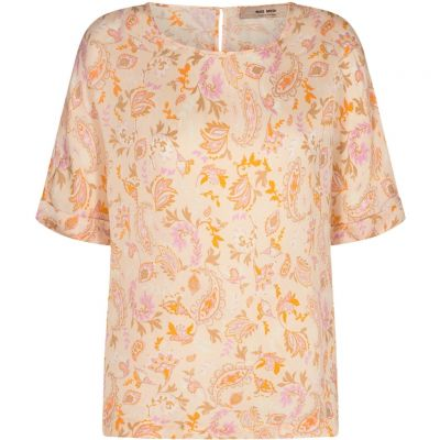 Mos Mosh - Bluse mit Chintz-Paisley-Muster