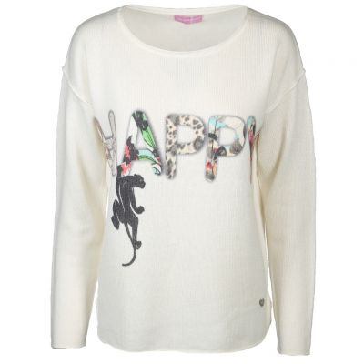 six-o-seven - Pullover mit Dschungel-Print
