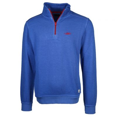 New Zealand Auckland - Royalblauer Sweat Troyer - Red Peak
