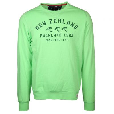 New Zealand Auckland - Sweatshirt mit Flockprint - Fielding