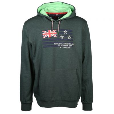 New Zealand Auckland - Sweat Hoodie mit Flaggen-Aufnäher - Te Raupa