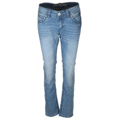Blue Monkey - Jeans mit Strassdetails - Stacy
