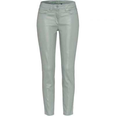 Marc Aurel - Jeans in Metallic-Optik