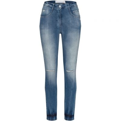 Marc Aurel - Jeans im Used Look