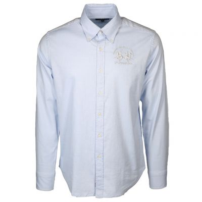 La Martina - Hellblaues Button-Down Hemd