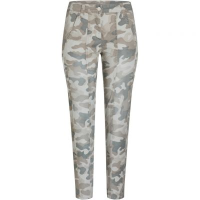 Cambio - Jeans mit Camouflage Muster - Sugar