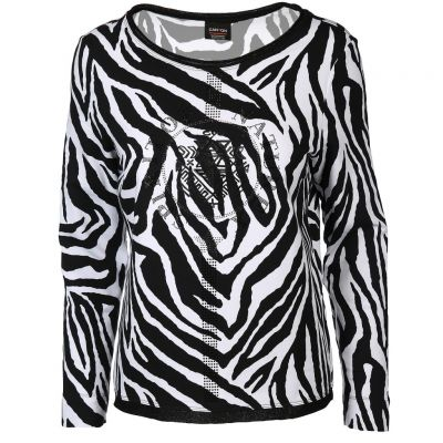 Canyon Women Sports - Sweatshirt mit Zebraprint