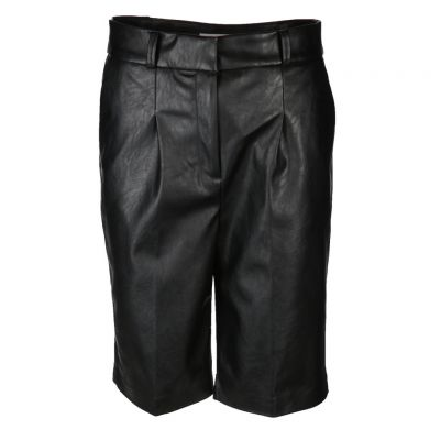 Rich & Royal - Bermuda Shorts aus Kunstleder