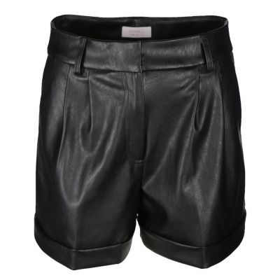 Rich & Royal - Shorts aus Kunstleder