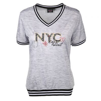 Canyon Women Sports - Shirt mit Rippbündchen