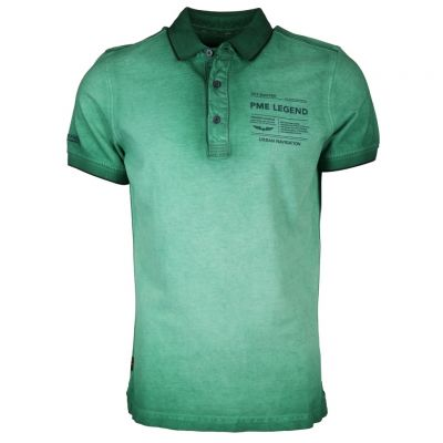 PME Legend - Poloshirt im Used Look