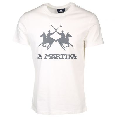 La Martina - Shirt mit Markenprint