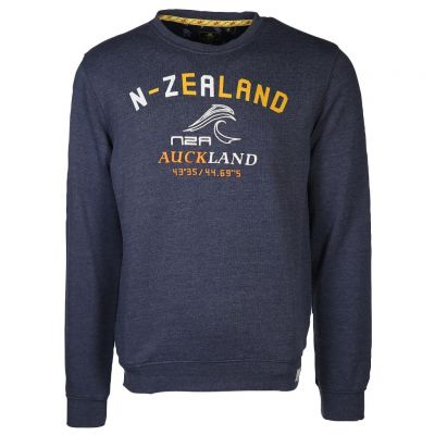 New Zealand Auckland - Meliertes Sweatshirt - Deakwood