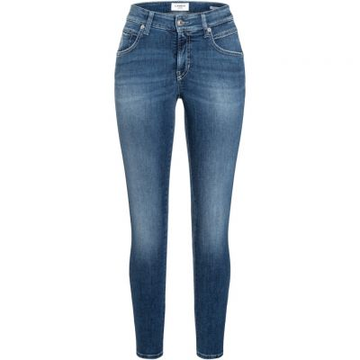 Cambio - Jeans im Used Look - Paris seam