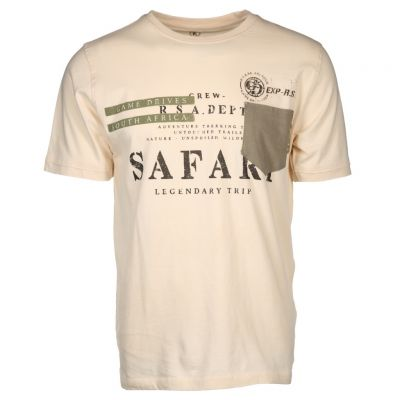 Kitaro Men - Shirt im Safari Style