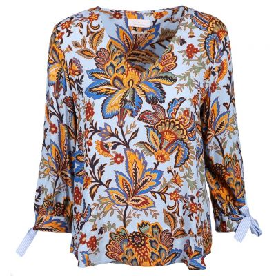 Rich & Royal - Bluse mit Binde-Details