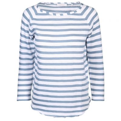 Rich & Royal - Shirt mit Ringelmuster - Heavy Jersey Longsleeve Stripe
