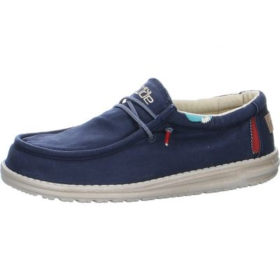 Hey Dude - Schnürschuh aus Canvas - Wally Washed