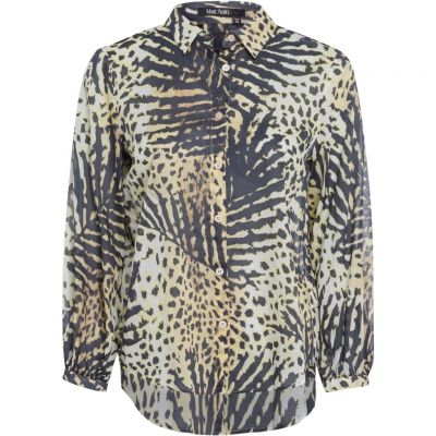 Marc Aurel - Bluse mit Tropical Print