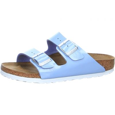 Birkenstock - Pantolette in Lack Optik - Arizona