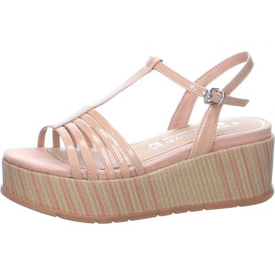 Marco Tozzi by GMK - Plateau Sandalette in Rosa