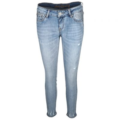 Blue Monkey - Jeans im Used Look - Anna
